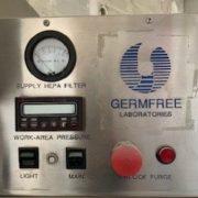 Germfree LFGI-4USP Laminar Flow Glove box Isolator Stainless Steel Fume Hood